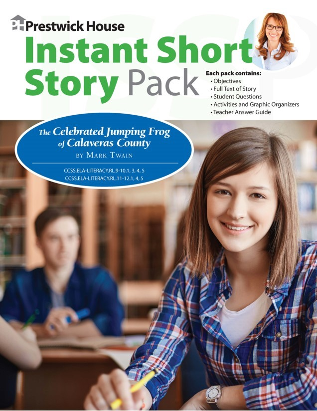 Instant Short Story Packs --text, questions, activities all in one pack